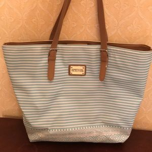 Large Kenneth Cole blue bag